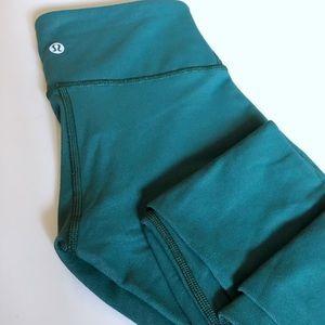 Lululemon Turquoise Legging